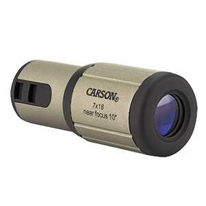 Carson CloseUp 7x18mm Close-Focus Monocular Review